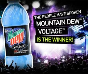 Mountain Dew voting competition